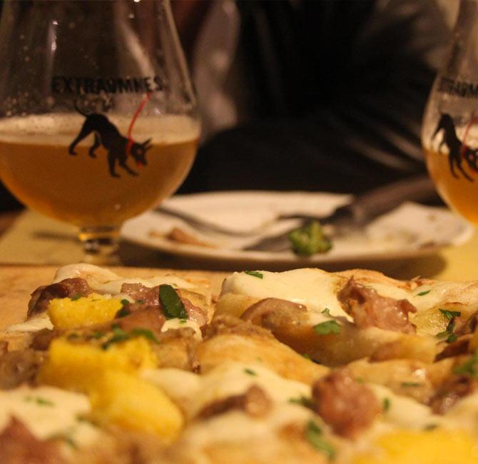 Pizze e birre di qualità